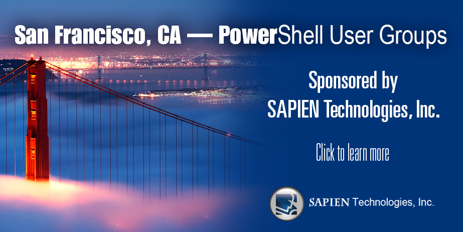 San Francisco PowerShell User Groups