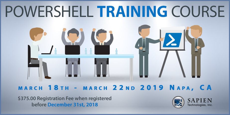 Announcing our 5-Day On-site PowerShell Training!