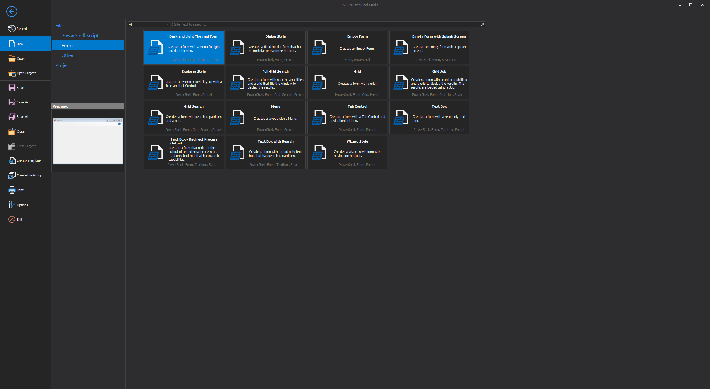 powershell studio