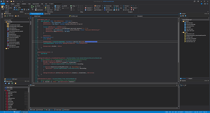 PowerShell Studio | The Most Powerful Windows PowerShell GUI