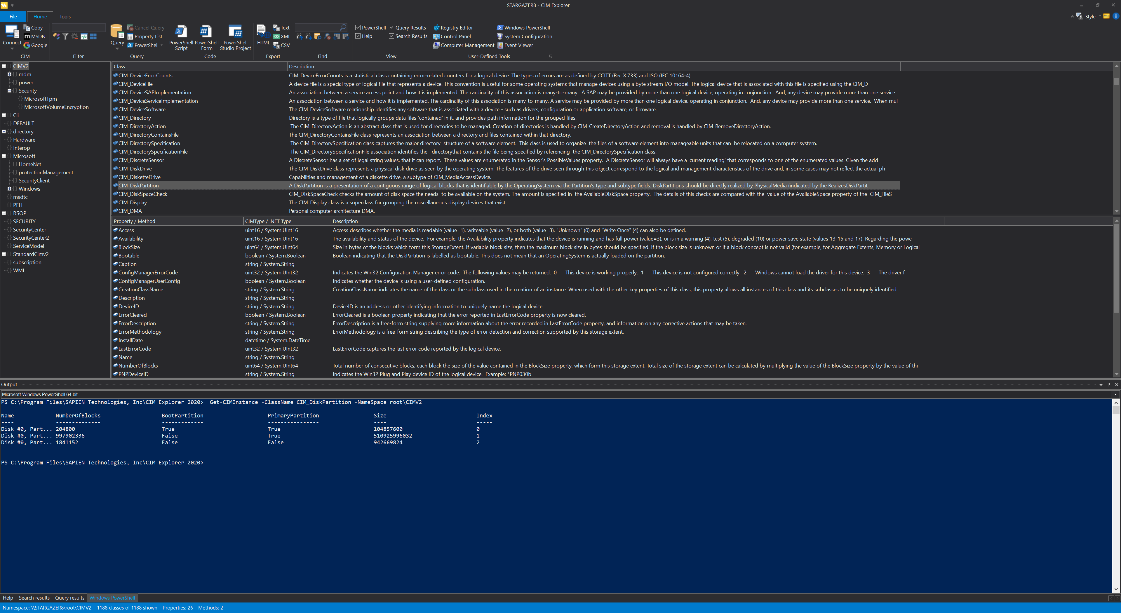 WMI Explorer | The information you need at your fingertips
