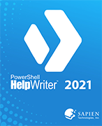 PowerShell HelpWriter 2021 - Download by clicking the red 'DOWNLOAD' button below!