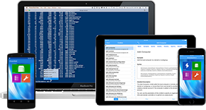 iPowerShell for iOS, Mac and Android