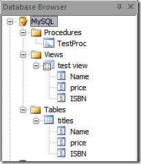 PrimalSQL Database Browser