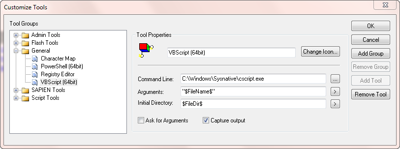 Moving to 64 bit: Running VBScript files in 64 bit mode from