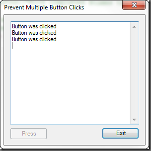 PrimalForms: Preventing Multiple Button Clicks – SAPIEN Blog