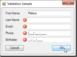 Validation-Sample-Form19