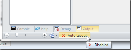 Disable Auto Layout