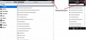 iPowerShell Pro Reload Buttons