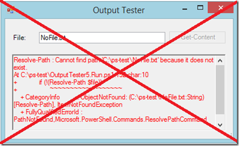 Manage Errors in a GUI Application – SAPIEN Blog