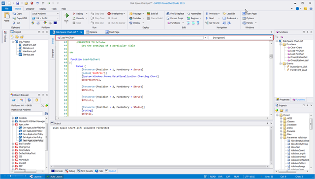 PowerShell Studio 2015 – New Navigation Bar – SAPIEN Blog