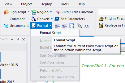 PrimalScript 2015 build 7 1 70 adds PowerShell parameter editing and
