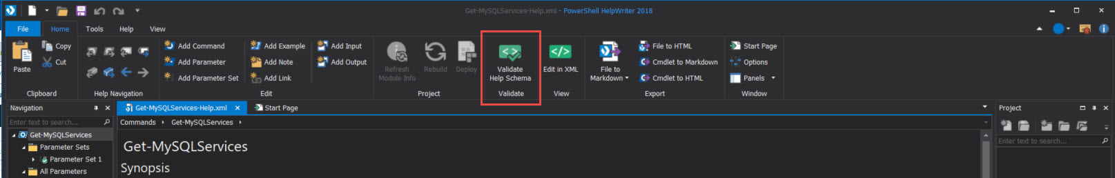 PowerShell HelpWriter 2018: Create a Single Function Help File
