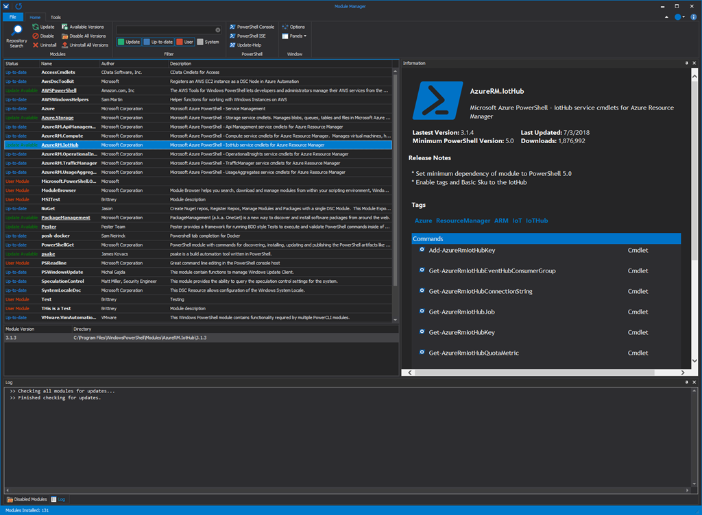 Introducing Module Manager – Available for Community Preview