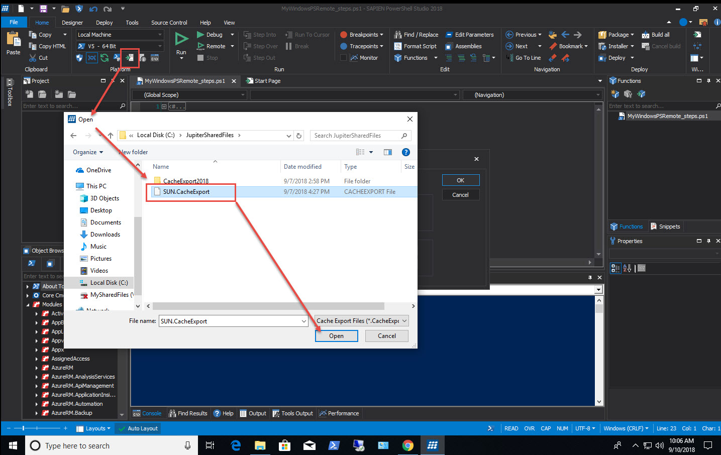 PowerShell Studio: Working with Remote Systems (Part 1) – SAPIEN Blog
