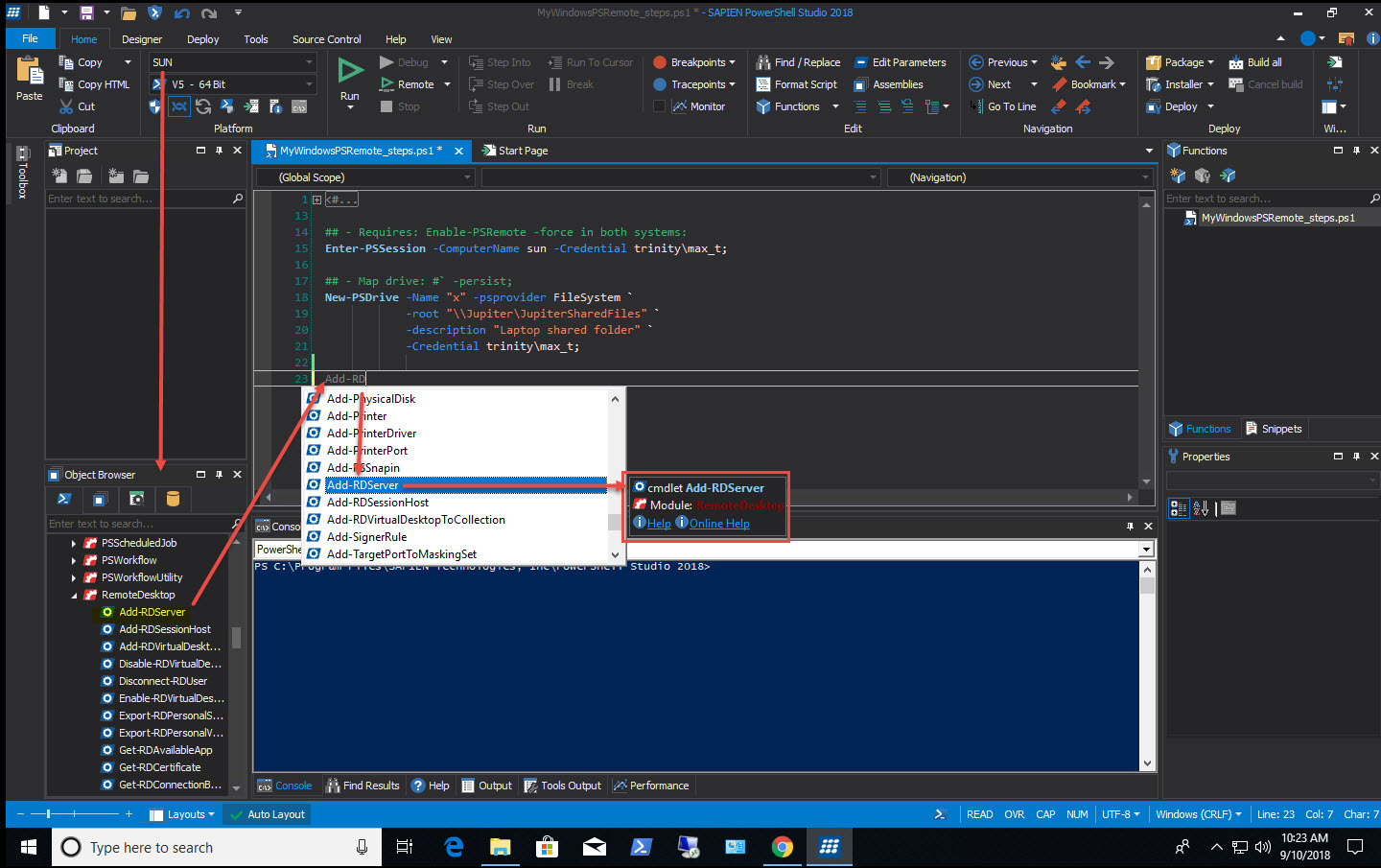 PowerShell Studio: Working with Remote Systems (Part 1