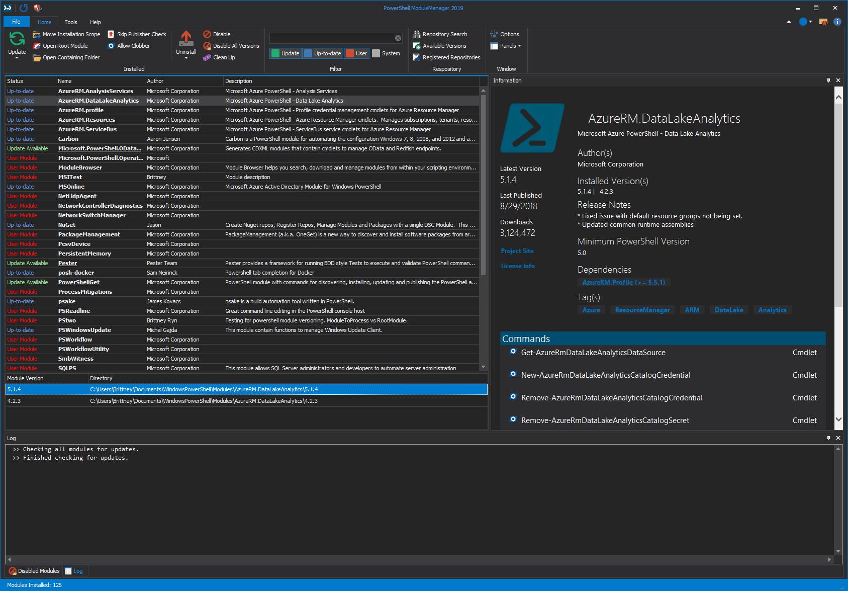 PowerShell ModuleManager 2019: Released! – SAPIEN Blog