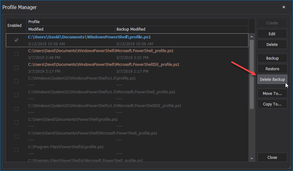PowerShell Profile Manager: Turning it up to 11! – SAPIEN Blog