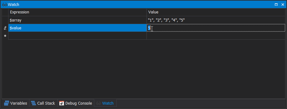 PowerShell Debugging: You can change variables but don't