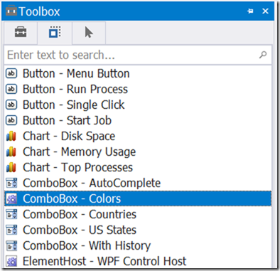 PowerShell Studio: ComboBox of Colors – SAPIEN Blog