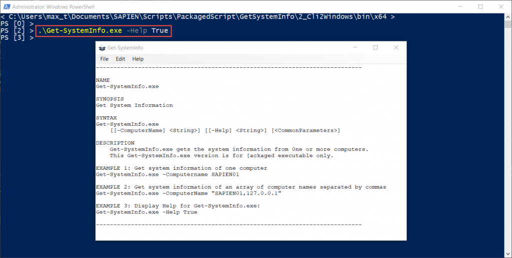 Four ways to package a non-GUI PowerShell script as an executable