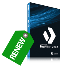 Discounted Renewal of PowerShell HelpWriter 2020