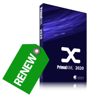Discounted Renewal of PrimalXML 2020