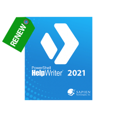 Discounted Renewal of PowerShell HelpWriter 2021