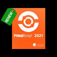 Discounted Renewal of PrimalScript 2021