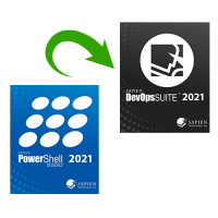 Upgrade PowerShell Studio 2021 to SAPIEN DevOps Suite 2021