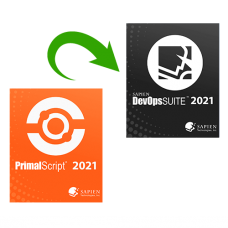 Upgrade PrimalScript 2021 to SAPIEN DevOps Suite 2021